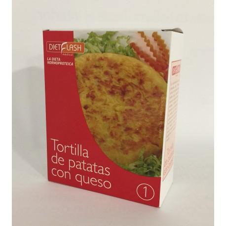 Fase 1 - Tortilla de Patatas con Queso