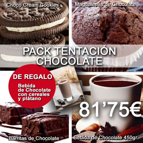 PACK TENTACIÓN CHOCOLATE
