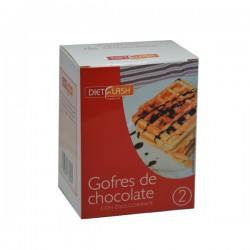 Gofres de chocolate