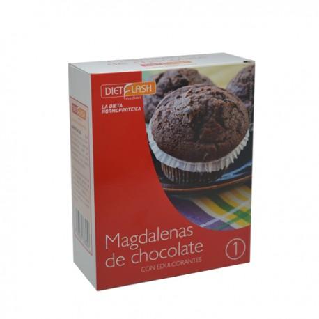 Magdalena de chocolate