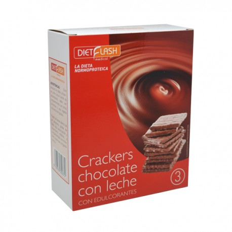 Cracker de chocolate con leche