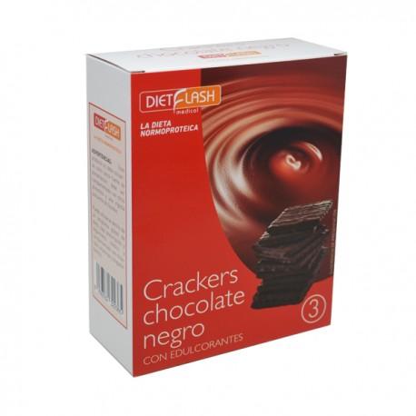 Cracker de chocolate negro