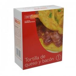 Tortilla queso y bacon