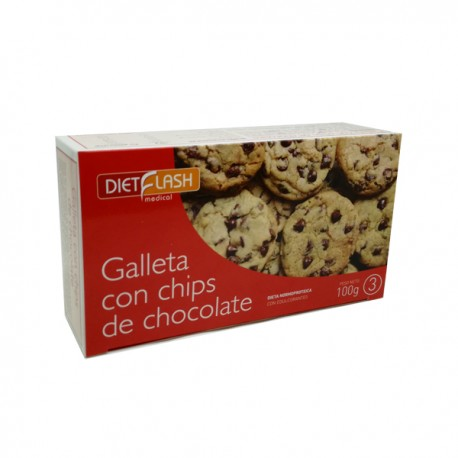 FASE 3-GALLETAS DE CHIPS DE CHOCOLATE