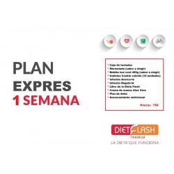 PLAN EXPRESS 1 SEMANA